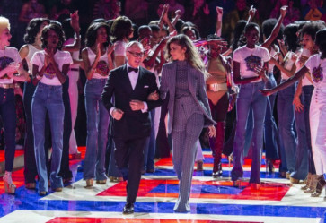 El desfile de Tommy Hilfiger en la NEW YORK FASHION WEEK 2019 / 2020
